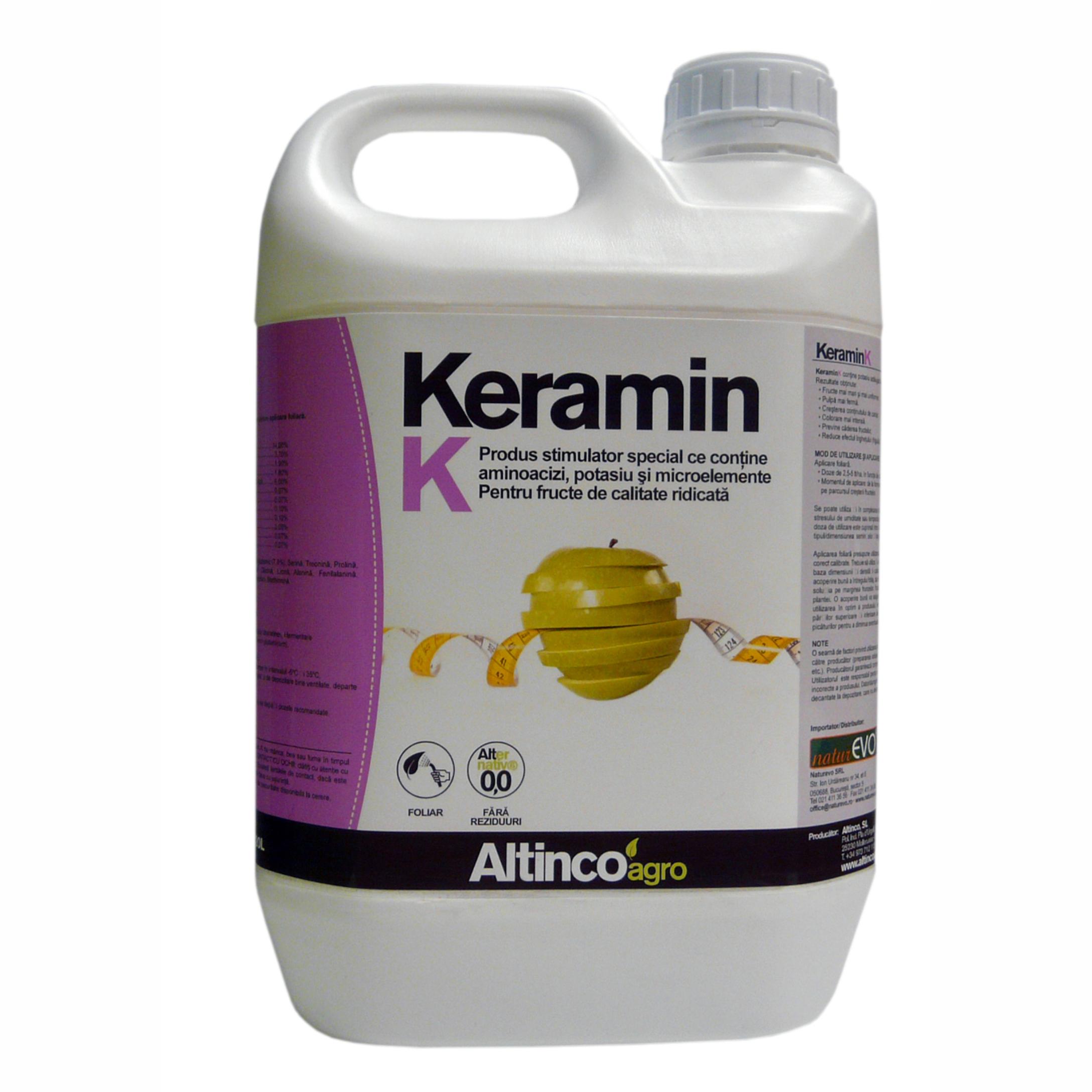 Keramin K stimulator de germinare și creștere