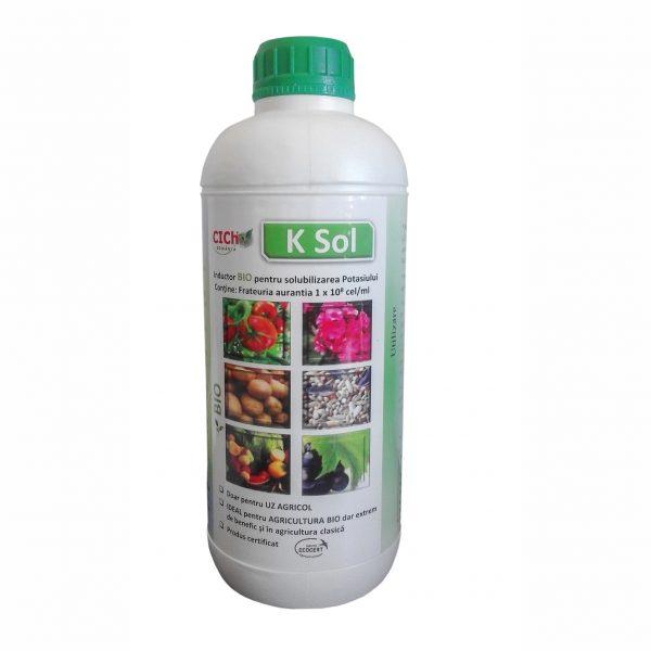 K SOL - Solubilizant al potasiului din sol