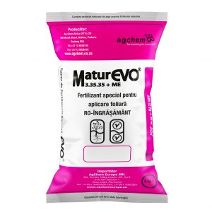 Maturevo fertilizant foliar special.