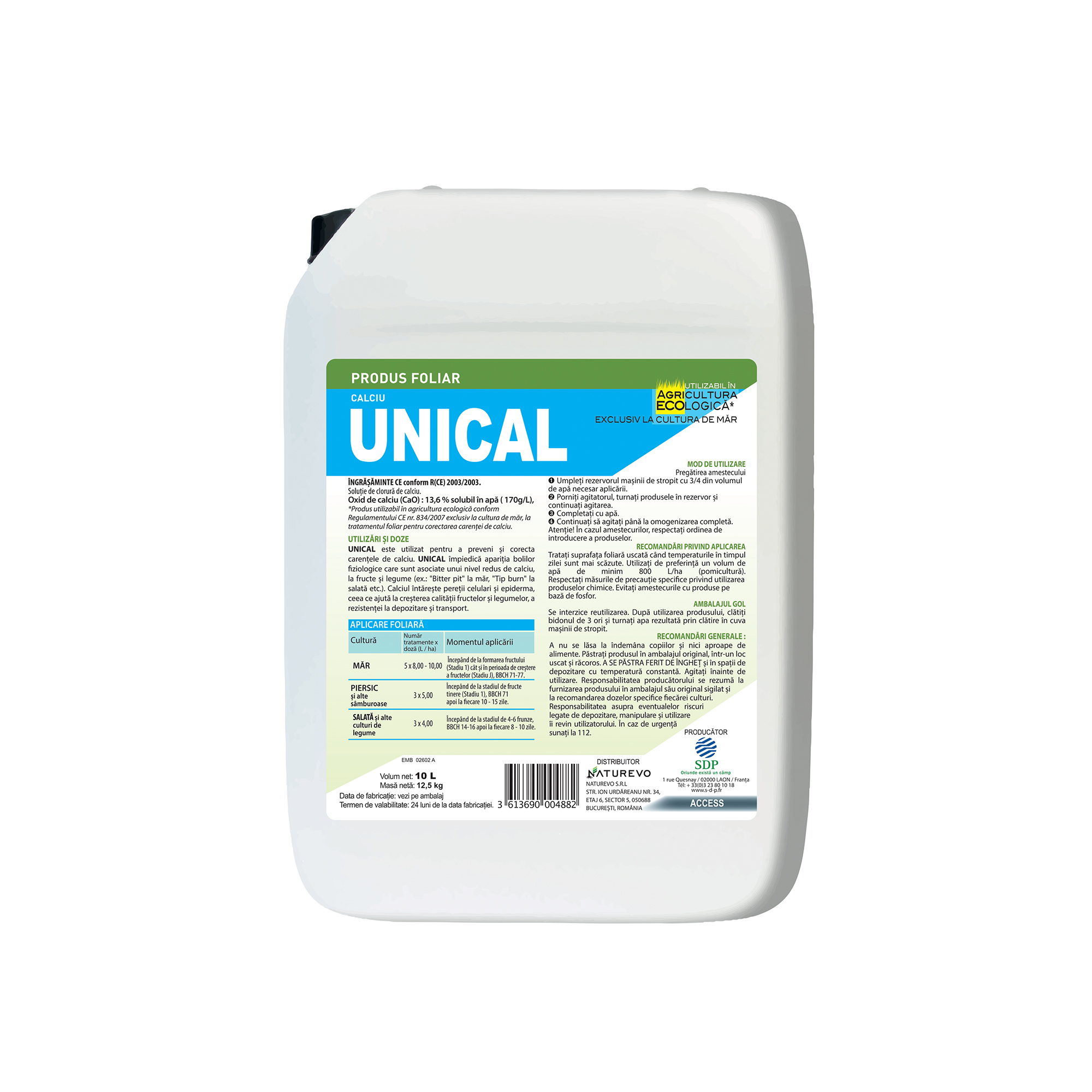 UNICAL - Ingrasamant foliar